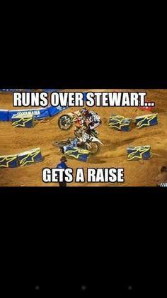 Hahahahaha 😂😂😂 Motocross Quotes, Motocross Love, Dirt Bike Racing, Four Wheelers, Fox Racing, Dirtbikes, Chevrolet Logo, City, Random
