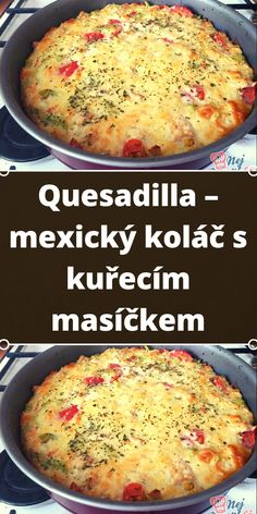 Quesadilla, Gnocchi, Quiche, Breakfast, Food, Red Peppers, Morning Coffee, Quesadillas, Essen
