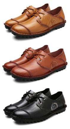 Vintage leather shoes for men.  - black leather shoes mens, - mens leather buckle shoes,  Click Visit link for more details