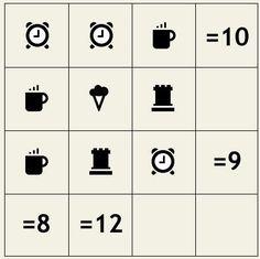 Juego para razonar y calcular #juegosdeinteligencia #agilidadmental