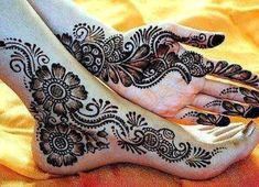 colorful bridal mehndi designs - Google Search