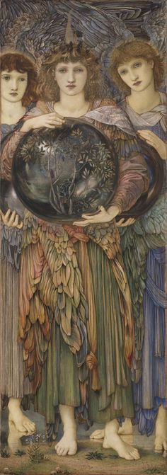 Edward Burne-Jones (British, 1833-1898). The Days of Creation: The Third Day, 1870-76. Harvard Art Museums, UK