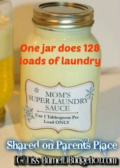 Laundry soap. http://www.budget101.com/myo-household-items/whipped-cream-super-laundry-soap-3993.html