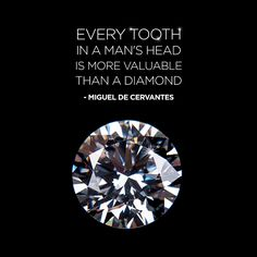 HEALTHY TEETH certainly contribute more to your happiness than gems and jewels! Take good care of them!