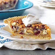 Cranberry Chocolate Nut Pie This pie recipe is perfect when served right from the oven. The combination of chocolate, cranberries, and nuts will warm you even on the chilliest of days.