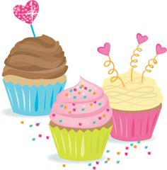It's cupcake time. Decorate your gifts with this 9 inch wide decal for your daily dose of fun.