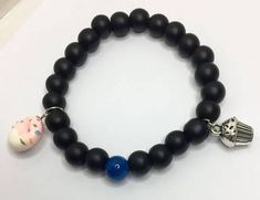 This collection features. (I'm sure you've guessed it). Beaded Bracelets in a large variety of colors and styles with the option of adding charms for a more personalized and unique look! Personalized Birthday Gifts, Simple Reminders, Fitness Bracelet, Couple Gifts, Black Velvet, Plating, Beaded Bracelets, Charmed, Silver