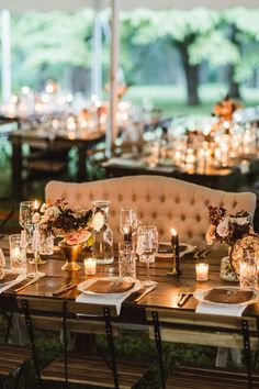 Backyard wedding ceremony seating dance floors 51 Ideas - All For Garden Wedding Table Layouts, Wedding Reception Layout, Wedding Ceremony Seating, Table Wedding, Reception Ideas, Romantic Wedding Centerpieces, Romantic Wedding Receptions, Romantic Weddings, Wedding Ideas