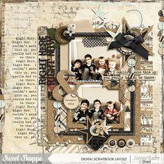 Digital scrapbook page by SeattleSheri using 2015 Everyday by Libby Pritchett