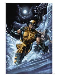 Wolverine: Origins No.33 Cover: Wolverine and Daken Prints by Doug Braithwaite at AllPosters.com