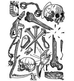 Sketch Tattoo, Tattoo Drawings, Medieval Tattoo, Dali Tattoo, Sketch Journal, Tattoo Flash Art, Hipsters, Art Sketchbook, Black Tattoos
