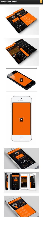 Nike Plus ios app redesign