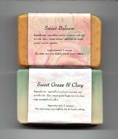 Sweet Grass and Clary Sage Soap Recipe. ☀CQ #soaps #crafts #DIY