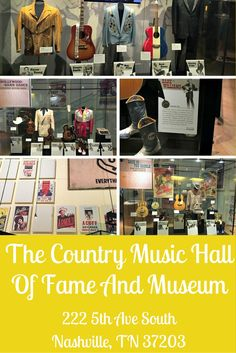 """Visiting the Country Music Hall of Fame in Nashville, Tennessee is a great way to familiarize yourself with past and present country music singers, culture, and ways of life. I""""m a huge fan and have loved watching it evolve into the gorgeous setting it is located in today."""