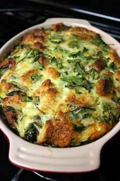 Stratta de espinacas Quiche Lorraine, Healthy Cooking, Healthy Recipes, Broccoli Fritters, Tapas Recipes, Spanish Tapas, Spinach Recipes, Home Food, Lunches And Dinners