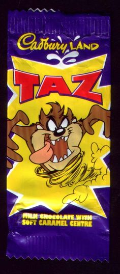 Taz chocolate bar (Now Freddo) and they used to only be 10p each! Those were the days
