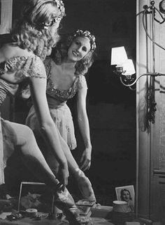 Robert Doisneau // Lycette Darsonval , vers 1950s