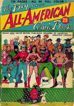 Sexy Golden Age Comic Cover | 1935-1956. La edad dorada del comic.
