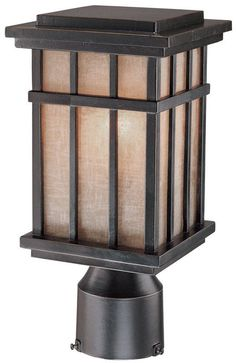 View the Dolan Designs 9141 Craftsman / Mission 1 Light Post Light from the Freeport Collection at LightingDirect.com.