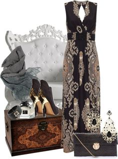 """Baroque Elegance~"" by tammylo-12 ❤ liked on Polyvore"