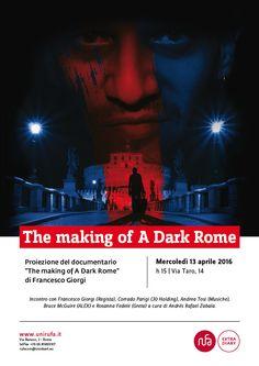 RUFA TALK: The Making of A Dark in Rome con Andres Rafael Zabala