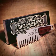 BigRedBeardCombs :: Designed to be tactical, indestructible and down right bad ass, our No.88 offers a stainless steel body with the warmth of a rosewood handle. :: Etsy :: Your place to buy and sell all things handmade
