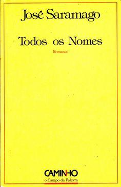 "Original title: ""Todos os nomes"", from José Saramago"