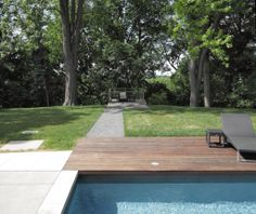Baby Point Garden by PLANT Architect Inc. Photo by Peter Legris. Backyards, Pools, Sidewalk, Deck, Gardens, Outdoor Decor, Plants, Baby, Home Decor