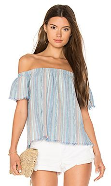 Shop for Bella Dahl Fray Hem Off Shoulder Top in Caribbean Mist at REVOLVE. Free 2-3 day shipping and returns, 30 day price match guarantee.