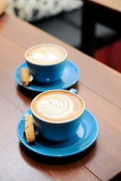 So sweet. I want blue cups of coffee this morning. Then everything would be alright.