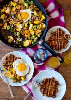 Leftover Stuffing Waffles and Turkey Vegetable Hash. Stretch the holiday out for a few more days with these awesome leftover recipes.