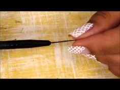 Faça um pincel para decorar unhas!