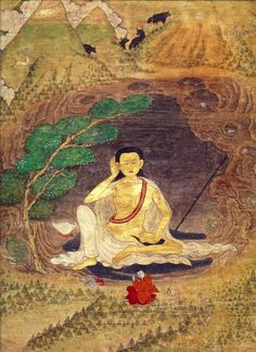 Milarepa (often referred to as Jetsun Milarepa, meaning Milarepa the Revered One)  is the central figure of early Tibetan Buddhism. He was a...