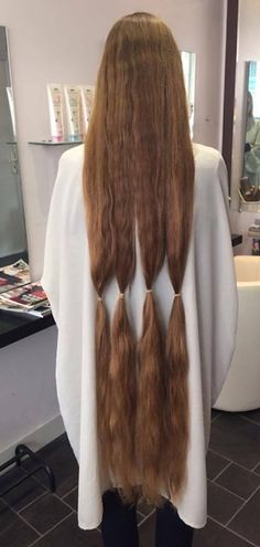 Ready to be snipped to something more ordinary Long Hair Ponytail, Ponytail Hairstyles, Madness, Fur Coat, Long Hair Styles, Fashion, Moda, La Mode, Long Hair Hairdos