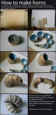 How to make horns                                                                                                                                                                                 Mehr