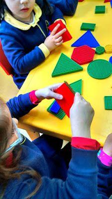 Blogue do Jardim Escola Carrocel: Blocos Lógicos Petite Section, Sensory Bins, Fine Motor Skills, Best Part Of Me, Fun, Geometric Form, Kid Activities, Human Body, Preschools