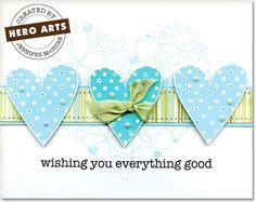 Hero Arts Cardmaking Idea: Everything Good