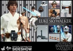 Star Wars Luke Skywalker Sixth Scale Figure by Hot Toys | Sideshow Collectibles