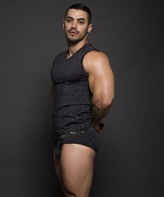 Arad Winwin, actor by Andrew Christian.