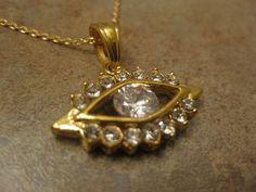 Evil Eye Necklace Evil Eye Jewelry evil by NovelaNoveltyNotions, $100.00