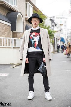 21-year-old Japanese student Ryo (Twitter or Instagram) on the...
