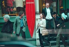Princess Caroline of Monaco, center, and her husband Prince Ernst of Hanover and Elle MacPherson shop in New York City, N.Y., April 1, 2000.