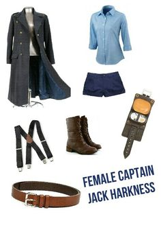 Female Captain Jack Harkness by Bethany Tidd