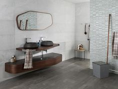 Bathroom furniture. PORCELANOSA Grupo showcases a wide range of bathroom furniture, from classic to minimalist-style vanity units and bathroom cabinets