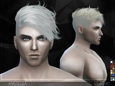 -Minor transparency issues  Found in TSR Category 'Sims 4 Male Hairstyles'