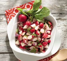 Icy-Hot Radish Relish from Cooking Club.