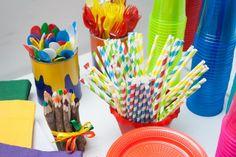 Aventuras maternais: A festa das cores: comemorando o primeiro aniversário da Marina.