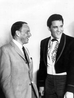 Com Frank Sinatra em 1965  Foto: Getty Images