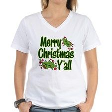 Merry Christmas Yall Shirt - Dirty Santa Gift Ideas (CafePress.com)