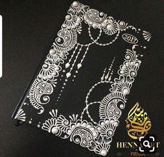 Dot Art Painting, Mandala Painting, Doodle Art Designs, Henna Designs, Mehndi Art, Henna Art, Henna Canvas, Gel Pen Art, Henna Body Art